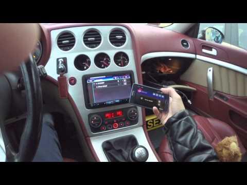 Pioneer AVH-X8500BT Alfa Romeo Brera
