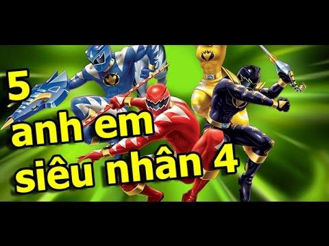 Game 5 Anh em siêu nhân 4 - Hướng dẫn chơi điểm cao