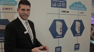 News from the SPS fair 2018 about Softing's Gateway Solutions by Sebastian Schenk