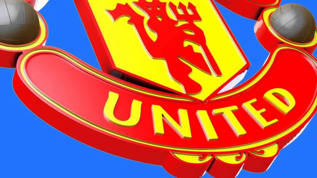 Green Screen Soccer Logo Manchester United FC FootageManchester United
