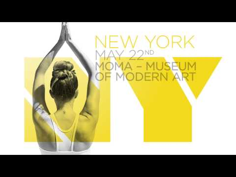 Lolë White Tour 2014: Inspired yoga events in beautiful museums around the world.