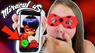 I CALLED MIRACULOUS LADYBUG!! OMG SHE ANSWERED!!
