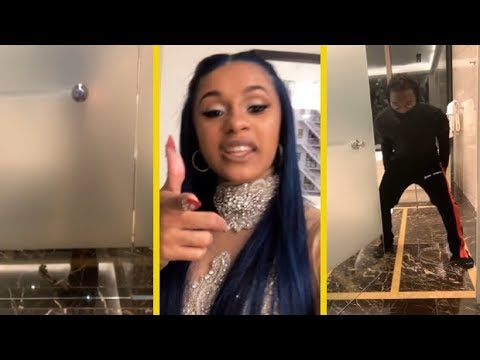 Cardi B Caught Lackin' By Offset On Valentines Day!