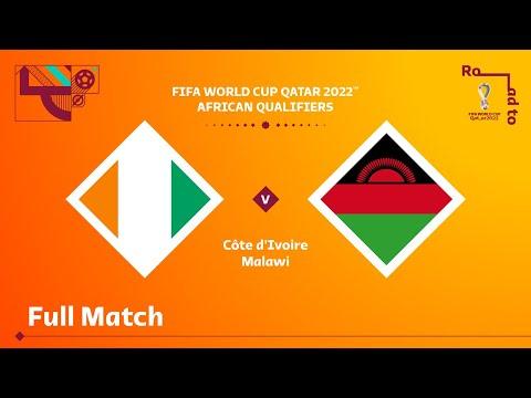 Côte d'Ivoire v Malawi | FIFA World Cup Qatar 2022 Qualifier