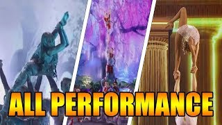 Zurcaroh Acrobatic Group America's Got Talent 2018 Runner-up ALL Performances|GTF
