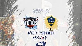 USL LIVE - Rio Grande Valley FC vs LA Galaxy II 6/17/17 thumbnail