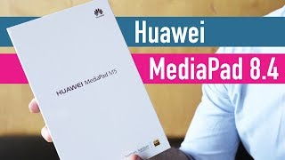 Huawei MediaPad M5 8.4 unboxing video