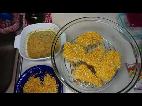 Cooking with Ron G & Dawn {Alaskan Cod with Cornflakes Big Boss Oil-less Fryer}