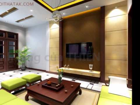 Mẫu nội thất phòng khách đẹp - noithatak.com