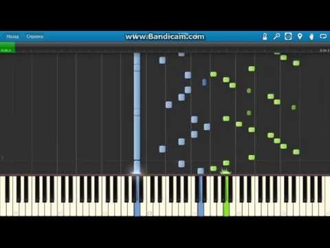 SaintSaëns  The Carnival of the Animals  VII Aquarium Piano Synthesia