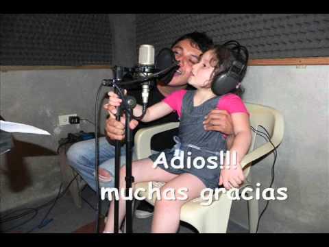 Adios mi jardin cancion oficial youtube for Cancion adios jardin querido