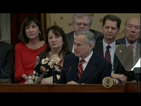 Watch Texas Gov. Greg Abbott give his State of the State address
