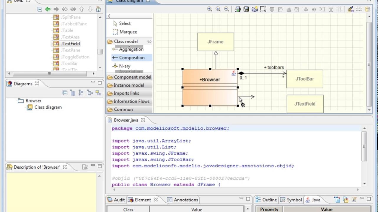 Modelio java designer module overview youtube modelio java designer module overview ccuart Choice Image