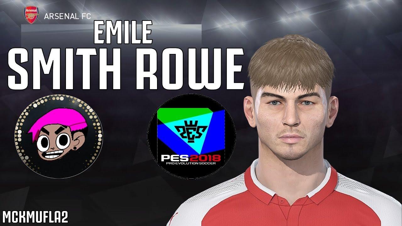 Emile Smith Rowe Arsenal Fc Face Stats Pes 2019 Mckmufla2 Youtube
