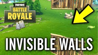 Fortnite - How to Build Invisible Walls