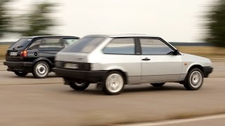 видео Спортивные версии ВАЗ-2108