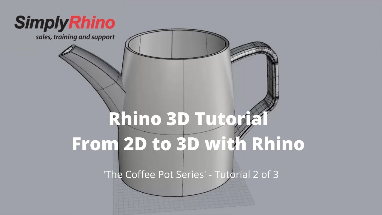 2D CAD Into 3D with Rhino - Simply Rhino