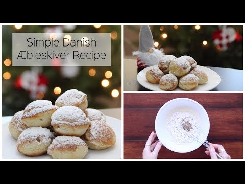 How To Make Danish Æbleskiver (Dutch Pancakes) - Easy Christmas Holiday Recipe