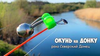 ЛОВЛЯ ДОНКОЙ на РЕКЕ РЫБАЛКА с ОТВОДНЫМ ПОВОДКОМ на реке Северский Донец