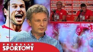 Polska - Kolumbia 0:3. Nawałka i Lewandowski tłumaczą porażkę #MisjaRosja
