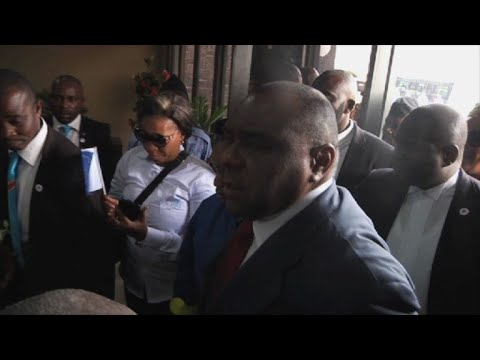 DR Congo ex-warlord Bemba returns home ahead of election