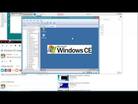 Windows CE VMware image + Download