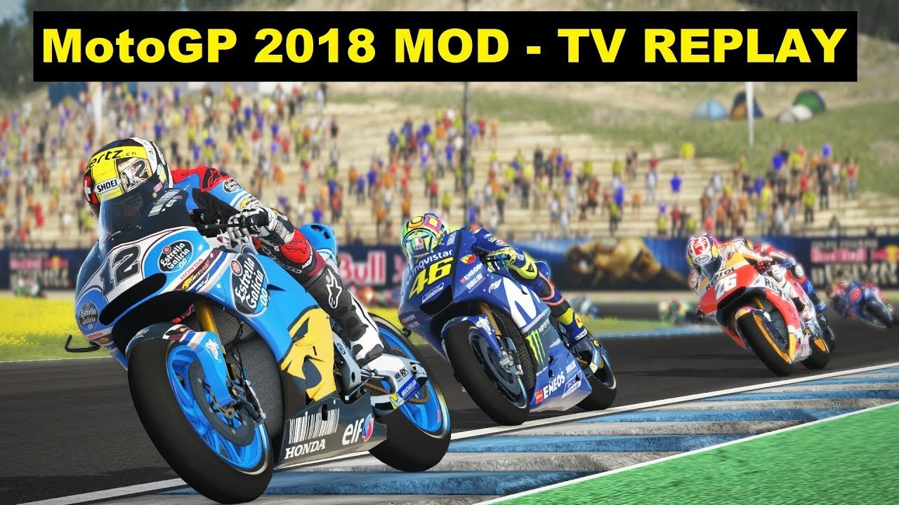 moto gp replay 2018
