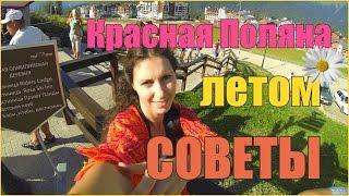 видео Красная Поляна летом