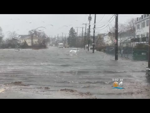 Nor'easter Hammering Mid-Atlantic & Northeast States
