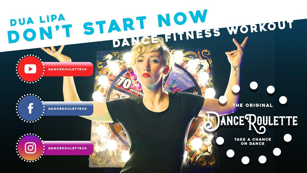 Dua Lipa - Don't Start Now [Dance Fitness Workout]