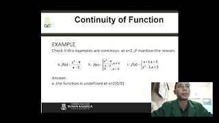19106050017 - Continuity of Functions - Rizky Bimawan