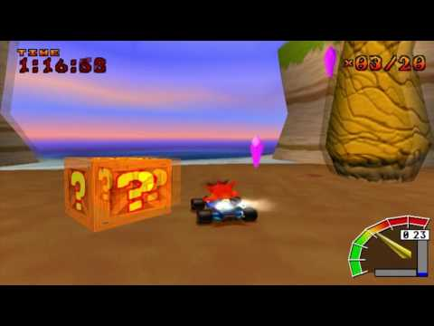 Crash Team Racing - CTR Challenge - Skull Rock