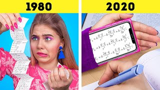 Жизнь подростков в 80-е и сейчас!