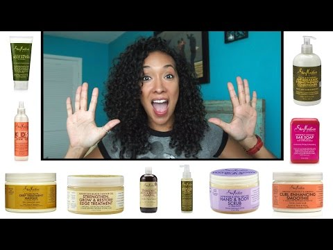 Top 10 Favorite Shea Moisture Products | RisasRizos