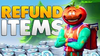 HOW TO REFUND YOUR SKINS For VBucks In Fortnite