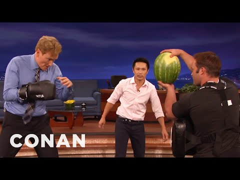 Steven Ho Takes Conan Back To Basics  - CONAN on TBS