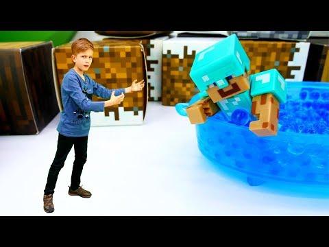 Видео обзор Minecraft - Ловушки для Стива – Игры Майнкрафт.