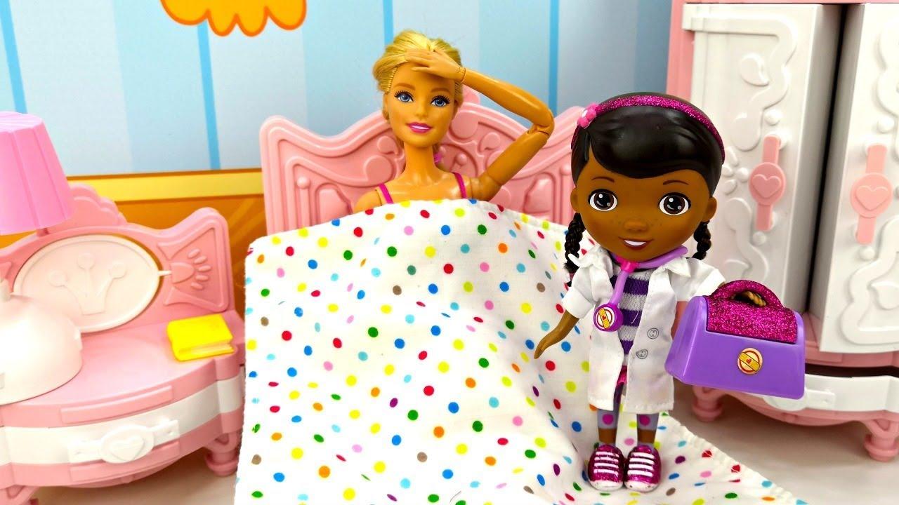 Мультик Барби и Кен - Доктор Плюшева для Барби. Игры для ...