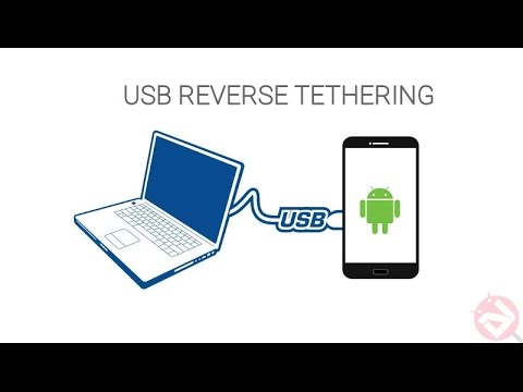 How to Share Computer's Internet Connection with Android Device ( Reverse Tethering )
