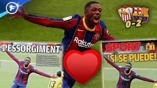 La renaissance d'Ousmane Dembélé au Barça enchante l'Espagne | Revue de presse