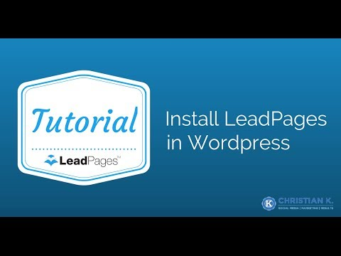 7 Simple Techniques For WordPress Leadpages