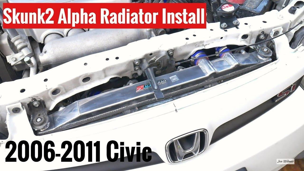 Radiator Filler Neck Assembly Fit 06-11 Honda Civic  1.8 4 Cylinders
