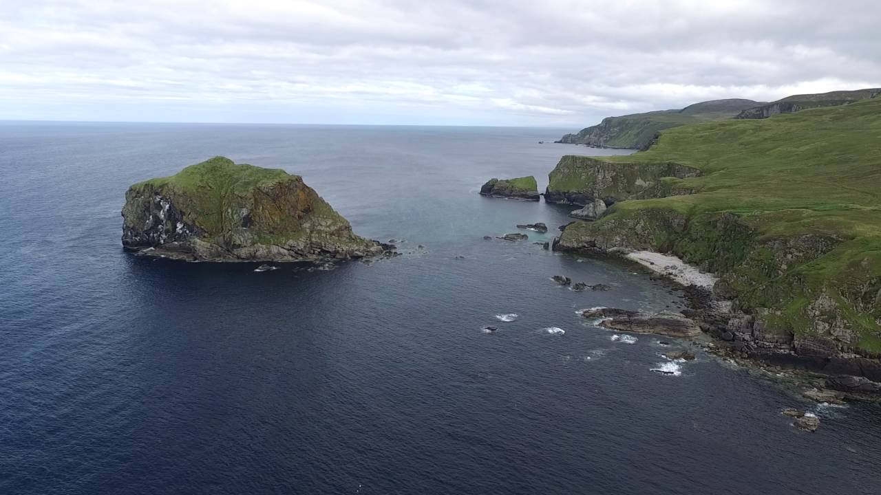 malin head drone donegal part 2 from banba 39 s tower to remote island youtube. Black Bedroom Furniture Sets. Home Design Ideas