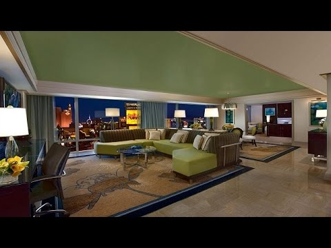 Mirage Two Bedroom Tower Suite Tower Suite Room Tour  Mirage Las Vegas  Youtube