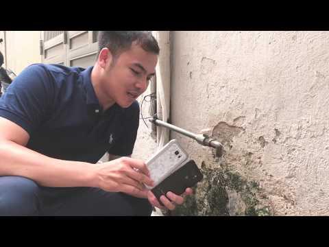 Test nước Samsung Galaxy S6 Active Xách Tay Giá rẻ nhất Hà Nội