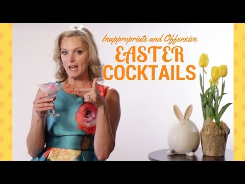How to Make The Most InAppropriate Easter Cocktails