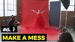Creative Photo Challenge No. 1 - Make a Mess w/ Lindsay Adler | CreativeLive