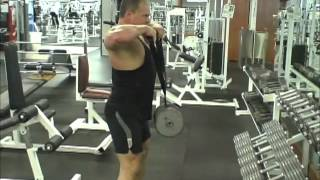 Delt Belt Upright Row and uses
