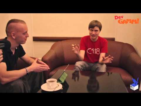 Daniel Rosenfeld (C418) interview at DevGAMM Moscow 2015