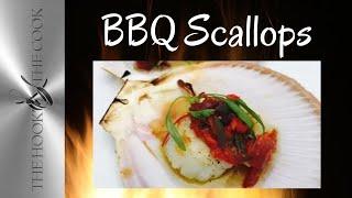BBQ Sea Scallops with warm tomato vinaigrette   TheHookandTheCook